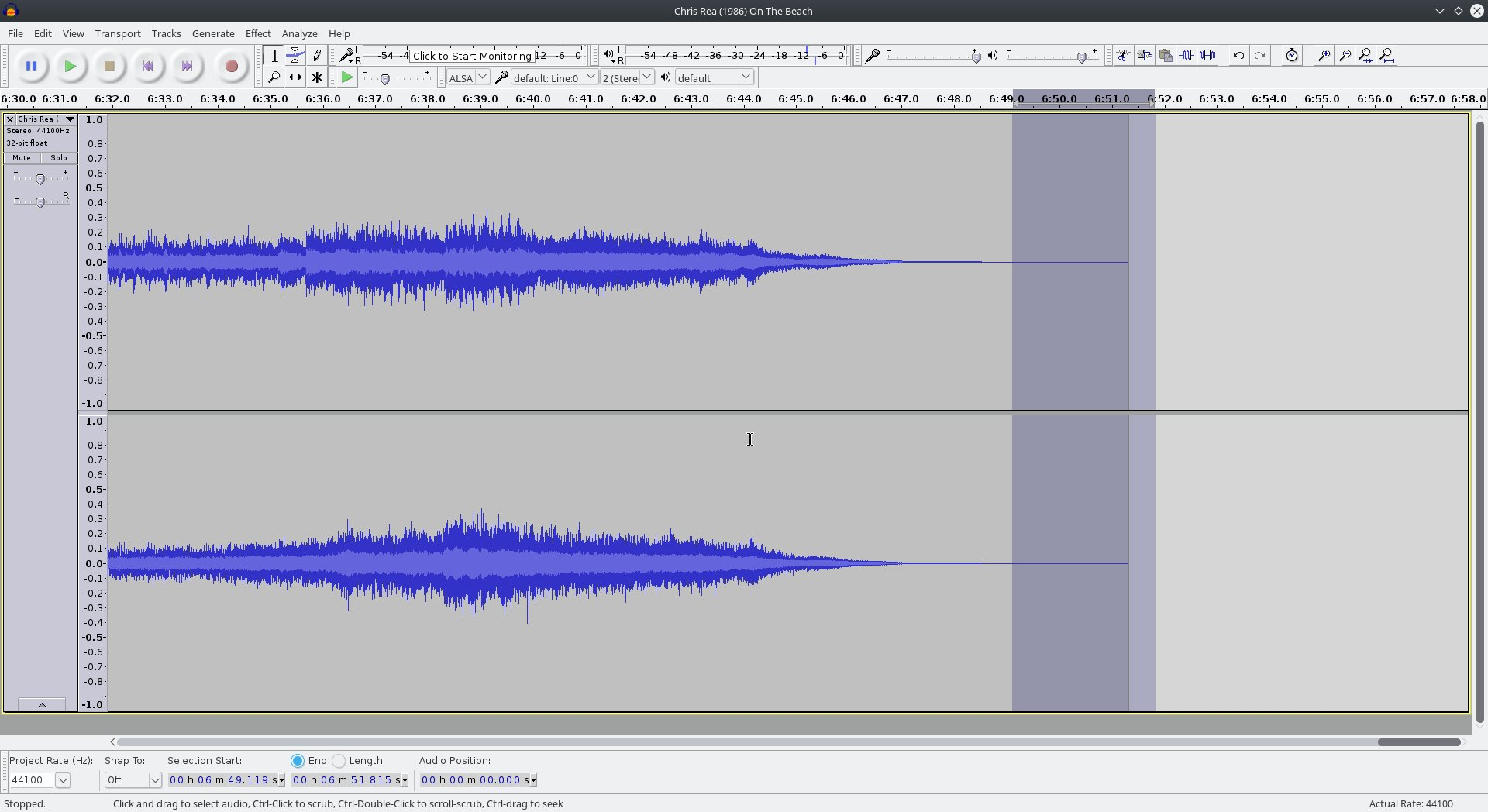 How to prepare tracks for music playlists (Editing Audio